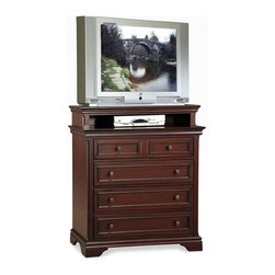 Home Styles - Home Styles Lafayette Media Chest - Home Styles - Chests - 5537041