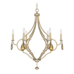 Capital Lighting - Capital Lighting 4456BG-000-CG Quinn Traditional Chandelier - Capital Lighting 4456BG-000-CG Quinn Traditional Chandelier