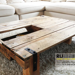 Coffee Table with Open Storage - oephoto