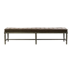 Curations Limited - Tiana Brown Bench -