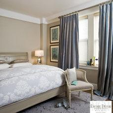 Modern Bedroom by Encore Decor Interior Design + Renovation NYC