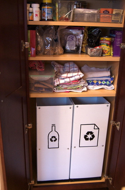 Create a Pretty and Practical Recycling Center