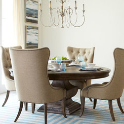 Donabella Dining Furniture with Round Table -