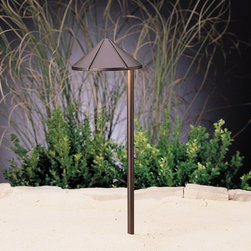 LANDSCAPE - LANDSCAPE 15827BBR LED Side Mount Cast Brass Path Light - LED technology is combined with premium solid brass material,engineered to withstand harsh coastal conditions.Coordinates with matching LED deck light KCH-15765.