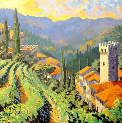 Mediterranean Artwork by Rod Pittam