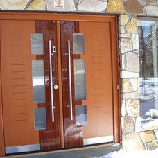 Contemporary Front Doors by Bella Porta