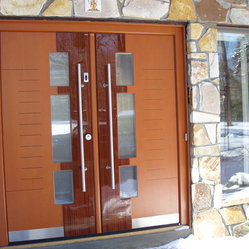 European doors exterior interior private residence in for High end exterior doors