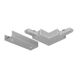 Juno Lighting - Juno T24 Trac-Master One-Circuit Adjustable Connector, T24sl - Adjustable Connector joins two trac sections to make a 90 degree angle or straight run