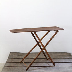 Vintage Wood Ironing Board by 86 Home - I love this vintage wooden ironing board. I'm not quite sure how to use it, but it's so pretty!