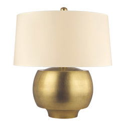Hudson Valley Lighting - Hudson Valley Lighting L162-AGB Holden AGED BRASS Table Lamp - Hudson Valley Lighting L162-AGB Holden AGED BRASS Table Lamp