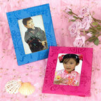 Double Fish Photo Frames - Place a photo of your precious child in one of these beautiful silk photo frames. They're just gorgeous.