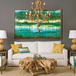 Jenna Slipcover Sofa - High Fashion Home -