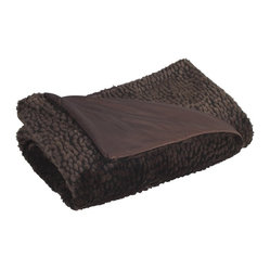 Sable Ebony Throw