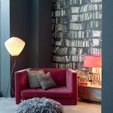 Eclectic  Abigail Ahern's living room reading corner