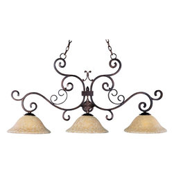 Maxim Lighting - Verona 3-Light Island Pendant - Verona 3-Light Island Pendant