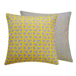 "Havana Banana 18"" Pillow l Chloe and Olive - Chloe and Olive"