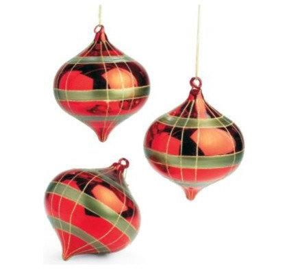 Modern Christmas Ornaments by Grandin Road