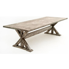 Rustic Dining Tables by Woodland Creek Furniture