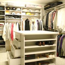Contemporary Closet by We Do Closets - WeDoClosets.ca