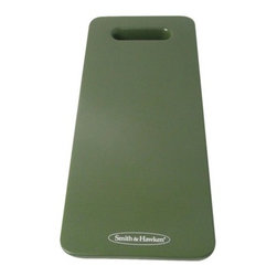 Smith & Hawken Kneeler Pad, Green - Save your knees while gardening with this cushioned kneeler. It also doubles as a headrest when taking a quick nap in the sun.