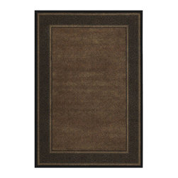 """Couristan - Contemporary Everest 5'3""""x7'6"""" Rectangle Ebony Area Rug - The Everest area rug Collection offers an affordable assortment of Contemporary stylings. Everest features a blend of natural Ebony color. Machine Made of 100% Heat-Set Courtron Polypropylene the Everest Collection is an intriguing compliment to any decor."""