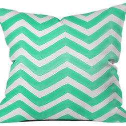 DENY Designs - Rebecca Allen The Tiffany Throw Pillow - Wanna transform a serious room into a fun, inviting space? Looking to complete a room full of solids with a unique print? Need to add a pop of color to your dull, lackluster space? Accomplish all of the above with one simple, yet powerful home accessory we like to call the DENY throw pillow collection! Custom printed in the USA for every order.