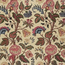Schumacher - Tree of Life Fabric, Document - 2 YARD MINIMUM ORDER