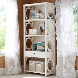 Elsie Bookcase - This bookcase isn't just practical, it's beautiful too!