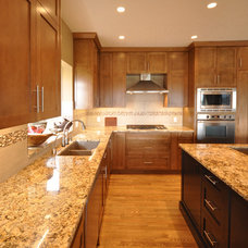 Contemporary Kitchen by Lindsay O. Creative