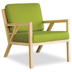 modern armchairs by STYLEGARAGE