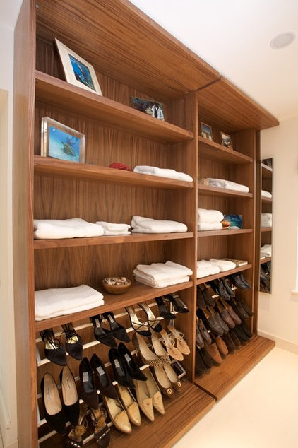 Modern Clothes And Shoes Organizers by Minimo Bespoke Furniture