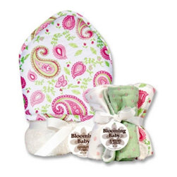 Trend Lab LLC - Trend Lab Paisley Bouquet Set - Hooded Towel and 5 Pack of Wash Cloths Multicolo - Shop for Towels from Hayneedle.com! For gentle cleansing and comfy snuggles the Trend Lab Paisley Bouquet Set - Hooded Towel and 5 Pack of Wash Cloths does bath and bed time better. Crafted with 100% terry cloth for superior softness each piece in this set is designed to protect and soothe baby's delicate skin. Wrap her up in the hooded towel and get ready for some lasting cuddle time. Trend Lab will replace any defective products within 30 days of original purchase.About Trend LabBegun in 2001 in Minnesota Trend Lab is a privately held company proudly owned by women. Rapid growth in the past five years has put Trend Lab products on the shelves of major retailers and the company continues to develop thoroughly tested high-quality baby and children's bedding decor and other items. With mature professionals at the helm of this business Trend Lab continues to inspire and provide its customers with stylish products for little ones. From bedding to cribs and everything in between Trend Lab is the right choice for your children.