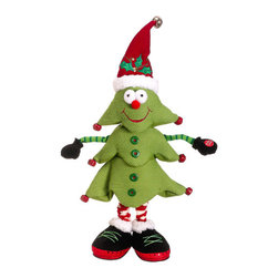 Silk Plants Direct - Silk Plants Direct Merry Christmas Singing Tree (Pack of 4) - Pack of 4. Silk Plants Direct specializes in manufacturing, design and supply of the most life-like, premium quality artificial plants, trees, flowers, arrangements, topiaries and containers for home, office and commercial use. Our Merry Christmas Singing Tree includes the following: