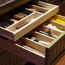 Contemporary Cabinet And Drawer Organizers by Hollands Custom Cabinets