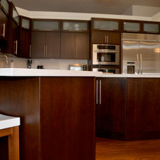 Modern Kitchen Cabinetry by KabCo Kitchens