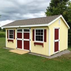 Storage Sheds - Colonial Quaker -