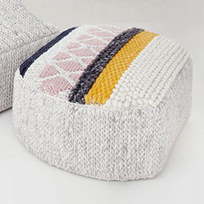 Eclectic Ottomans And Cubes by Stardust