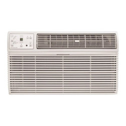 Frigidaire A/C - 8000 BTU, Through the Wall with Electronic Controls and Remote - 8,000 BTU through-the-wall installation air conditioner (Not suitable for window installation)|Uses standard 115V electrical outlet|Cools rooms up to 350 sq. ft.|Dehumidification up to 1.8 pints per hour|Ready-select electronic controls allow you to easily select options with the touch of a button|Effortless temperature sensing remote control allows you to see, set and maintain room temperature from across the room|Low power start-up and operation conserves energy and saves you money|Quiet operation keeps you cool without keeping you awake|Effortless temperature control maintains preset room temperature so you will remain at your comfort level|Effortless restart automatically resumes operating at its previous settings when power is restored|  frigidaire| fra086ht1| fra086| 8000| 8|000| btu| through-the-wall| thru-the-wall| through| thru| the| wall| ttw| air| conditioner| a/c| ac| 115v  Package Contents: through-the-wall air conditioner|remote control|2 AAA batteries|universal trim kit|manual|warranty  This item cannot be shipped to APO/FPO addresses