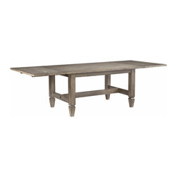 Legacy Classic - Legacy Classic Brownstone Village Trestle Table - Brownstone Village Rectangular Trestle Table by Legacy Classic Furniture