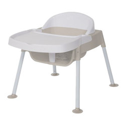 "Foundations - Foundations Secure Sitter Feeding Chair 7"" Seat Height White/Tan - No Slip passive restraint prevents child from sliding out of seat. No tip feet provide stable base to keep chair securely on the floor. Chairs stack 4 high for space saving storage. No Slip passive restraint prevents child from sliding out of seat. No tip feet provide stable base to keep chair securely on the floor. Chairs stack 4 high for space saving storage."