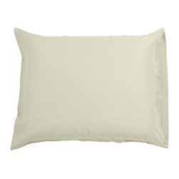 BambooDreams Pillowcase Set of 2, Standard, Stone - Yala's Bamboo Dreams™ Pillowcases offer soft haven for your head each night. No anti-wrinkling agents or chemicals means you can sleep in nature's embrace. Will match any decor and the Bamboo Dreams Sheet Set, of course!  Envelope closure.