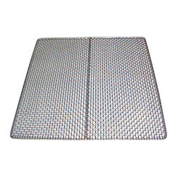 Excalibur - Stainless Steel Dehydrating Trays by Excalibur - This 100% Stainless Steel Replacement Tray fits all 5 and 9 tray Excalibur Dehydrators. The tray is constructed with 100% 304 stainless steel 1/4 inch square mesh so no polyscreens are needed. Made in the U.S.A.
