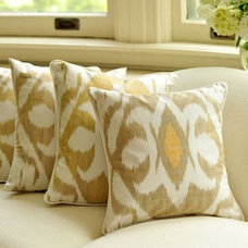 accessories and decor Jali Designs hand-woven silk-cotton traditional ikat pillows