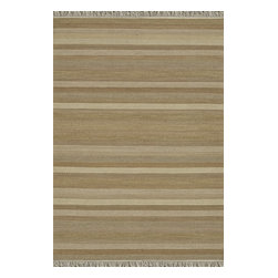 Loloi Rugs - Loloi Rugs Camden Sand Transitional Hand Woven Striped Rug X-0BA700AS20-MCDMAC - The Camden Collection from India, is hand-woven of 100% wool, showcasing a series of striped and solid flat weave kilims in a broad range of soft, on-trend colors. Camden's defining characteristic is its texture, which alternates with each stripe inthe pattern to create an unprecedented appearance that will freshen up any room.