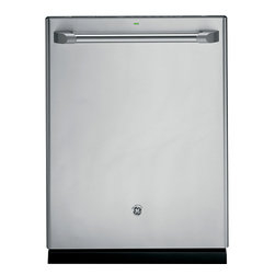 GE Cafe Series Stainless Interior Built-In Dishwasher with Hidden Controls (mode - Features: