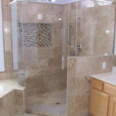 Modern Tile by Kitchen AZ Cabinets
