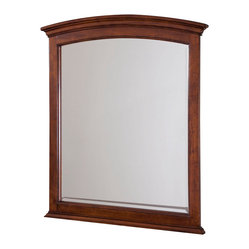 Lea Elite Covington Vertical Mirror in Warm Cherry