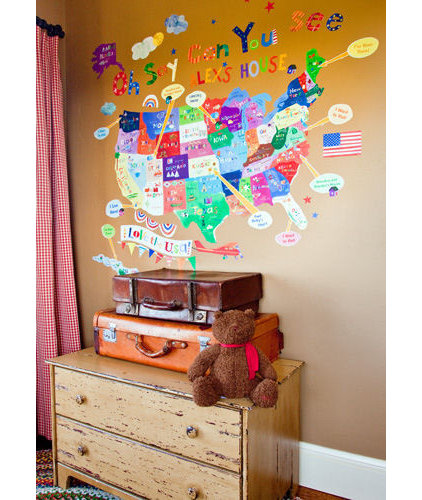 Eclectic Kids Decor by Wall Sticker Outlet