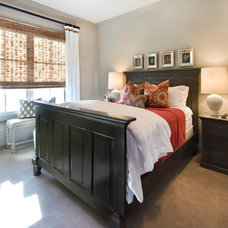 Eclectic Bedroom City Townhouse