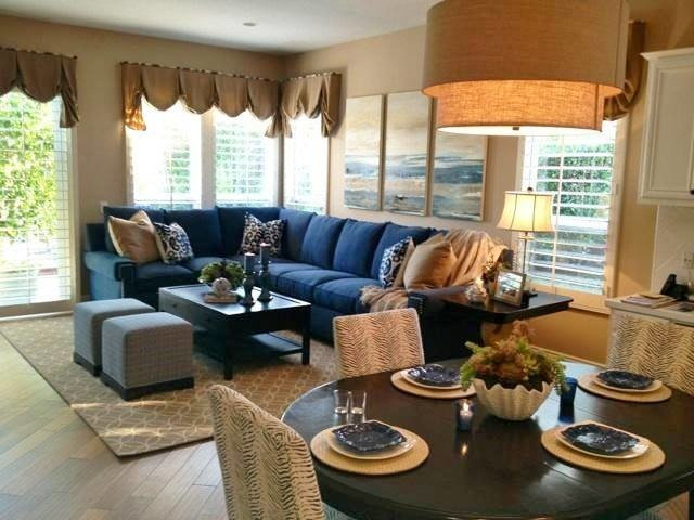 Beach Style Family Room by Rejoy Interiors, Inc.